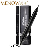 Free shipping Menow meinuo double slider liquid eyeliner pen
