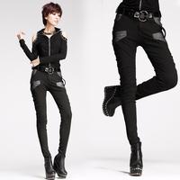 8237 fashion slim trousers strap