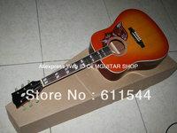 New Arrival Lemon Burst Hummingbird Acoustic Guitar Wholesale Guitars Best HOT