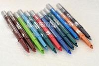 Rotary Retractable Color Eyeliner Pen Waterproof Lip liner Eye Shadow Pencil  Cosmetic Makeup Set 11 color 12 pieces