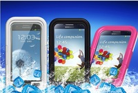 1pcs/lot Life Waterproof 3 proof Dustproof DropProof Diving Swim case for Samsung galaxy note 3 2 1 N9000 N7100,Free Shipping
