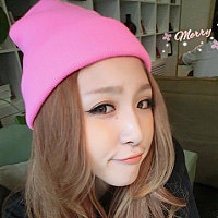 Hot Sale Cheap Beanies Autumn Winter Wool Knitted Men cap women knitted Casual Hip-hop