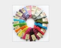 Wholesale - 20Pairs/lot fashion Adult socks Korean cute candy dot wave point socks mixture colors