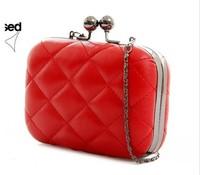 Hotsale Fashion Women Purse Evening Lingge Chain Bags Small Wallet Wholesale Price