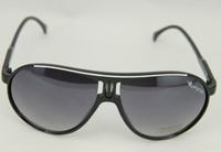New hot Black Mirrored Aviator Sunglasses Dark Tint LensFrame UV400