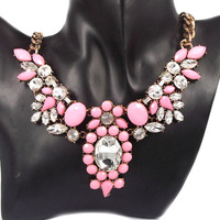 Popular fashion all-match short design necklace bohemia handmade