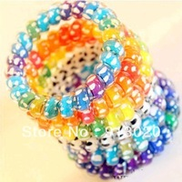 10pcs Mix Color Telephone Line Elastic Hair Rope Accessories Hair Band head string