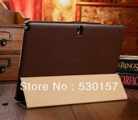 ICARER High Quality Magnetic Closure Leather Case for Samsung Galaxy note 10.1 2014 edition, With retail box! Freeshipping