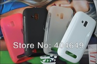 Free shipping wholesale 100pcs/lot New High Quality Soft TPU Gel S line Skin Cover Case For Nokia LUMIA610 Lumia 610