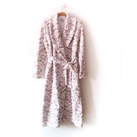Coral fleece robe female at home service skirt autumn and winter bathoses lounge plus velvet thickening sleepwear bathrobes