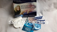 free shipping, 0.1%CP  teeth whitening home kit ,2014HOT.can stamp your logo on the syringe