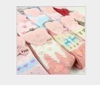 10pcs/lot A001 socks Korea cute cartoon winter warm thickening, female socks cotton socks rabbit wool socks mix colors .