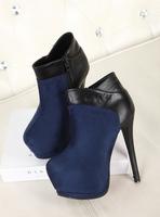 Women's boots high-heeled boots platform high-heeled female boots 11 - 5