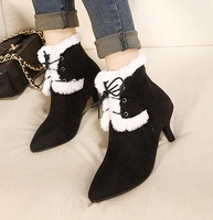 2013 autumn and winter pointed toe gentle strap boots ankle boots 10 - 29