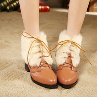 2013 belt fashion thick heel boots fashion boots snow boots 12 - 5