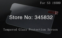 New Premium Tempered Glass Screen Protector Protective Film For Samsung Galaxy S3 SIII I9300 With Retail Package MOQ:10pcs G012