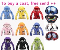 Retail female classic down sport coat/women winter ski jacket/candy color snow clothes/Wind and Water proof coat 004k