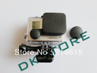 Protective Camera Pro Lens Cap Cover + Housing Case Cover For Gopro Hero 3+ Plus Free Shipping