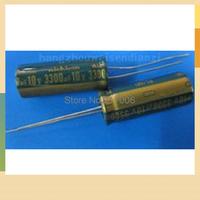 Electrolytic capacitor 10V 3300UF 3300UF 10V capacitor usedFree shipping