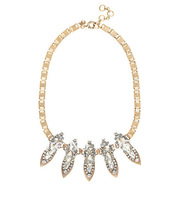 New Auth J-C/-J Crystal Points  Drop Pendant necklace 2013 Fashion Jewelry for Women Luxury  Copper Statement Necklace