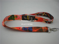 Justice League, Superman, Batman, Green Lantern, The flash Polyester Lanyard with Metal Clip, Cell Phone Strap, 35pcs/Lot, Free