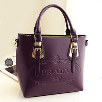 2013 cowhide fashion handbag fashion genuine leather handbag women's vintage shoulder bag