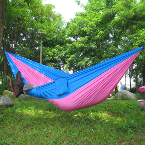 Parachute single double hammock outdoor hammock swing hanging chair canvas hammock - Choosing a hammock chair for your backyard ...