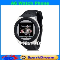 "A6 Watch Mobile Phone With 1.54"" TFT Resistive Touch Screen 240x240 Single SIM Card 1.3MP Camera Watch Phone"