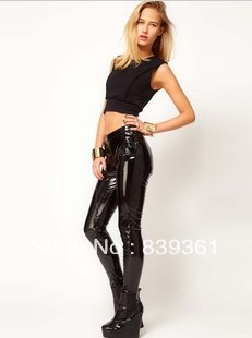 Fantastic DEGREES C WOMENS BLACK FAUX LEATHER RIDING PANTS SIZE M  EBay