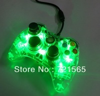 Wholesale wired gaming controller for xbox360/30pcs/free shipping via fedex