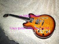 Wholesale - Left Hand Honey Burst ES335 Jazz Guitar High Quality Jazz Guitar Wholesale HOT