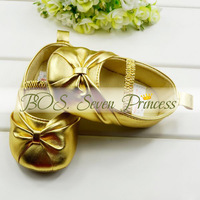 children's shoe noble bow princess Baby Shoes soft sole baby shoe Girls 3 size to choose BOS.lk004