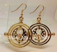 100% Discount Off Harry Potter - Hermione Granger TIME TURNER Pair Earrings 18K GOLD PLATED