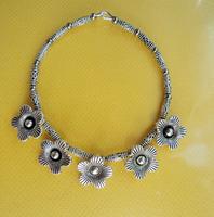 National trend accessories tibetan silver jewelry crafts vintage miao silver bracelet sl036