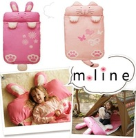 Child sleeping bag spring and autumn baby four seasons style sleeping bag cartoon stereo animal sleeping bag