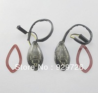Free Shipping Smoke Flush mount LED Turn Signals For Honda CBR 600 F4i 2001 2002 2003 2004 2005 2006 2007