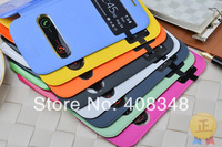 For samsung Galaxy Grand Duos i9082 9082 Original S View open window flip leather back cover cases battery housing case