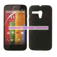 50pcs/lot+free shipping,rubber hard case cover shell,For Motorola Moto G DVX XT1032 XT1028 XT1031,high quality