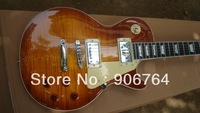 Brand new arrival guitars flame top terry sunburst standard Electric guitar 2 pickups free shipping mahogany