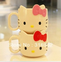 D1 Hello Kitty design melamine mug, melamine cup,Eco-friendly cup , Free shipping