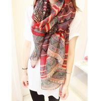 2014 scarf female spring bohemia scarf women autumn cape ultra long silk scarf