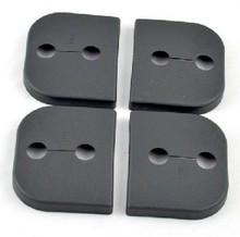 For Suzuki SX4 Jimmy Splash Swift Alto car door lock cover protecting cover Anti-corrosive 4 pcs/lot for SUBARU auto parts(China (Mainland))
