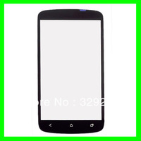 Replacement Black Front Glass Screen Outer Lens Cover for HTC one S Free Shipping
