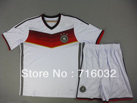 Germany  Soccer Uniform 2014,World Cup Version.deutschland Best Quality .Free Shipping. Muller,Schweinsteiger,Ozil,Reus,Gotze,