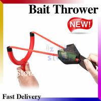 Wholesale 2Pcs! Bait Thrower Kit Fishing Bait Accessories Slinger Carp Bowfishing Fresh Water +Free Gift