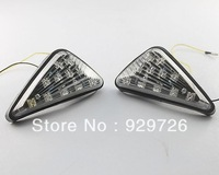 Free Shipping Clear Flush mount LED Turn Signals For Honda CBR 600 RR 2003 2004 2005 2006