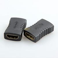 10pcs Hdmi to hdmi female to femal 19 pin adapter plug for Mini Micro HDMI 3 RCA Video Cable Extension cord