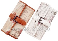 New fashion quality nice cute bear women's wallet belt hasp long and middle size envelope purse
