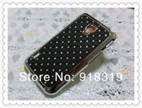 Luxury Bling Silver Gypsophila Paniculata Diamond Rhinestone Hard Cover Case For LG Optimus DUET+ L7 II Case Dual P715 P716 Case
