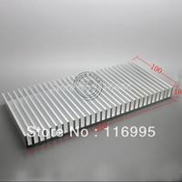 Free shipping 2pcs High quality radiator-fan high power heatsink aluminum profile radiator 100* 220* 18mm